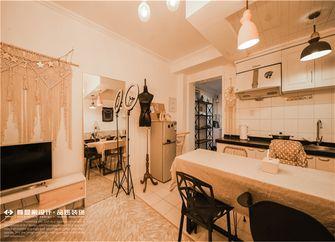 经济型120平米三室一厅田园风格客厅图