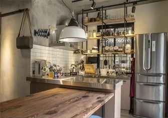 豪华型公寓工业风风格厨房装修效果图