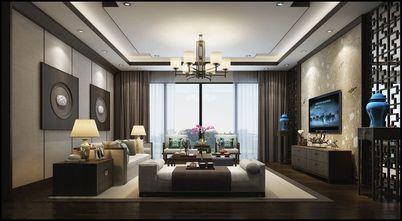 90平米三中式风格客厅图