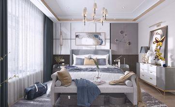 富裕型140平米三室三厅混搭风格卧室效果图
