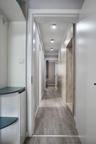 富裕型100平米三室两厅北欧风格走廊装修案例