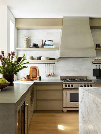 140平米英伦风格厨房图片