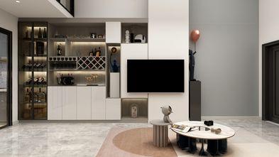经济型60平米复式现代简约风格客厅设计图