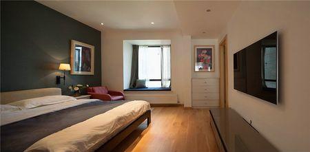 富裕型120平米三室两厅北欧风格卧室图片