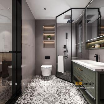 10-15万140平米三室两厅北欧风格卫生间图