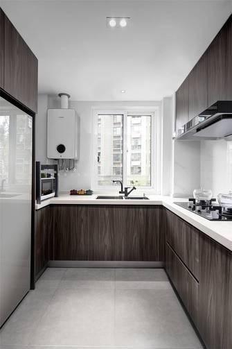 豪华型90平米三室两厅现代简约风格厨房图