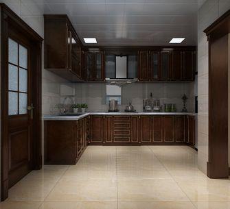 110平米欧式风格厨房装修图片大全