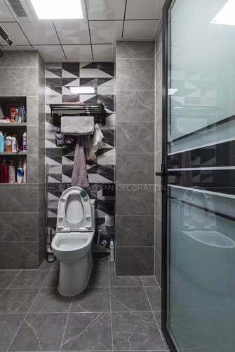 富裕型110平米三混搭风格卫生间欣赏图