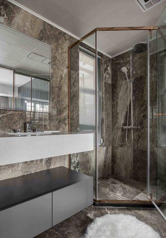 富裕型90平米三室一厅轻奢风格卫生间装修案例