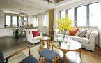 5-10万50平米复式东南亚风格客厅图片
