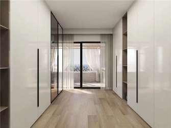 5-10万120平米三室两厅现代简约风格衣帽间装修效果图