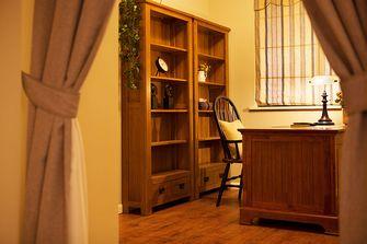 富裕型110平米三美式风格书房装修案例