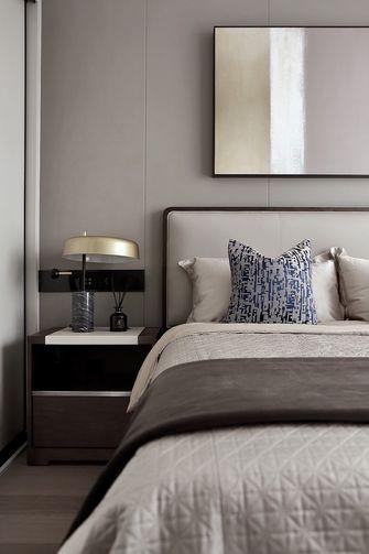 140平米三室两厅现代简约风格卧室图片大全