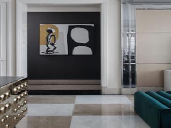 经济型90平米混搭风格走廊装修图片大全