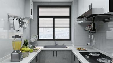 富裕型90平米轻奢风格厨房效果图
