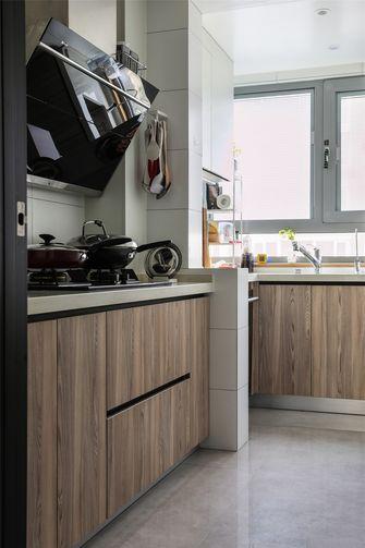 110平米三日式风格厨房图