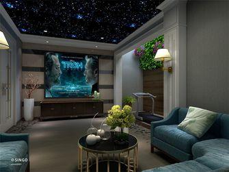 20万以上140平米别墅北欧风格影音室装修效果图