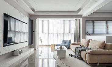 120平米三轻奢风格客厅设计图