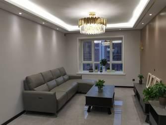 3-5万100平米三室一厅轻奢风格客厅效果图