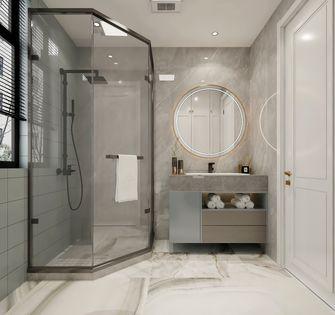 富裕型90平米美式风格卫生间装修效果图