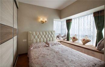 经济型110平米三东南亚风格卧室图片大全