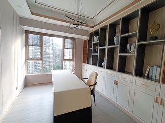 豪华型140平米别墅轻奢风格书房图