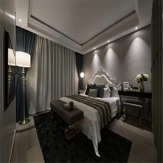 富裕型130平米三室两厅混搭风格卧室装修案例
