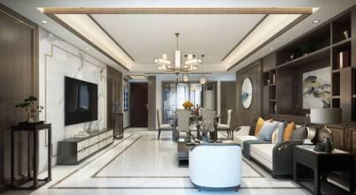 10-15万130平米三室三厅中式风格客厅装修效果图