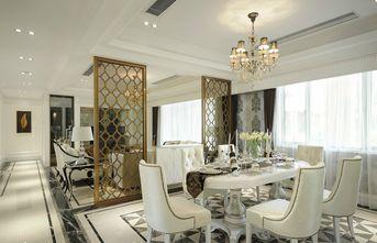 富裕型130平米三室两厅欧式风格餐厅装修效果图