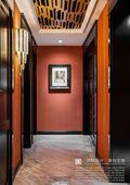 豪华型140平米四室两厅混搭风格走廊装修案例