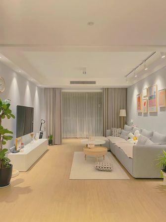 富裕型80平米欧式风格客厅图片大全