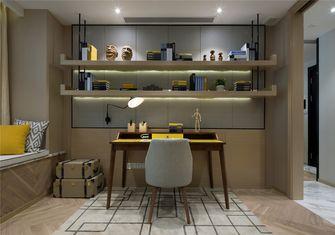 富裕型60平米一室一厅北欧风格书房装修图片大全