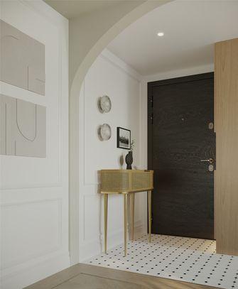 豪华型80平米三室一厅法式风格玄关装修案例
