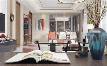 140平米三新古典风格书房装修案例