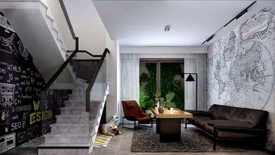 20万以上140平米复式现代简约风格楼梯间效果图
