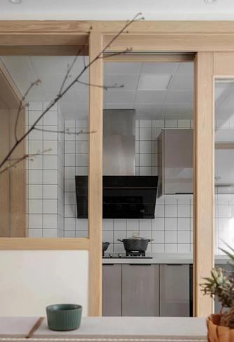 110平米日式风格厨房图