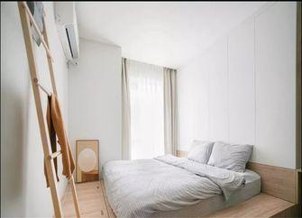 富裕型三室一厅日式风格卧室图