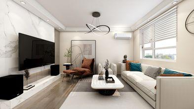 20万以上120平米一居室现代简约风格客厅装修案例