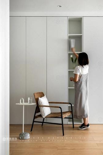 豪华型80平米三室两厅现代简约风格走廊装修效果图