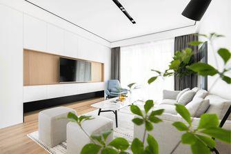 10-15万90平米三室三厅北欧风格客厅欣赏图