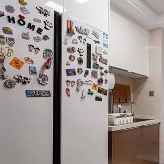 富裕型140平米三室两厅北欧风格厨房图片
