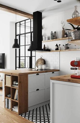 10-15万50平米一室一厅欧式风格厨房图
