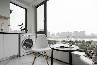 富裕型三室两厅现代简约风格阳台图片