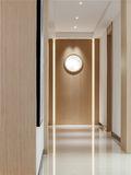 20万以上140平米别墅现代简约风格走廊设计图