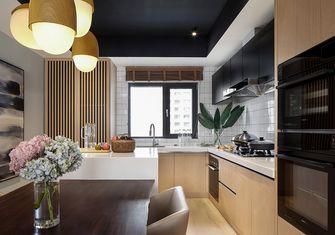80平米一居室轻奢风格餐厅图片