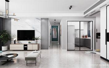 110平米三室一厅北欧风格客厅设计图