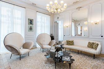 20万以上140平米四法式风格客厅欣赏图