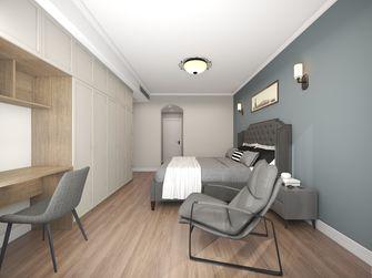 富裕型130平米三室三厅美式风格卧室图