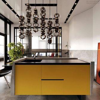 70平米公寓工业风风格餐厅欣赏图