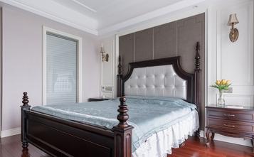 富裕型120平米三室两厅美式风格卧室装修图片大全